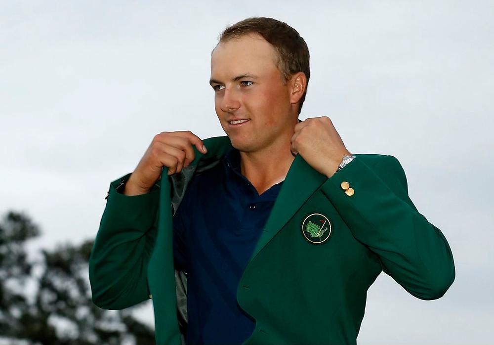 Jordan Spieth The Masters 2015 The Masters 2021 The Masters Augusta National Green Jacket Masters Champion 2015 Masters Champion 2021