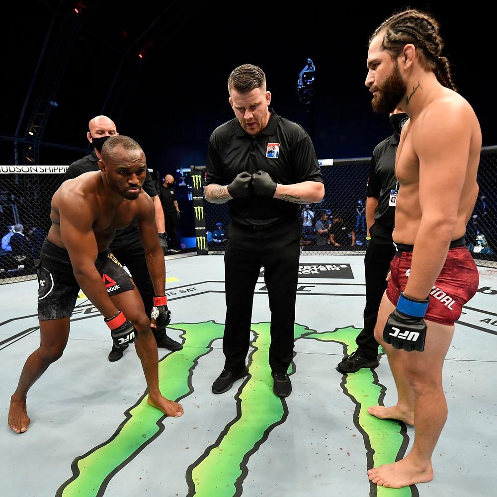 Usman vs Masvidal UFC 261 Title Fight Main Event MMA UFC