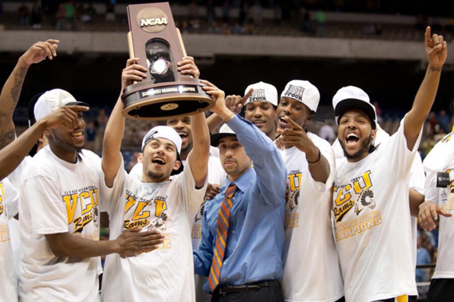Final Four Trophy, Final Four, Upset, Cinderella, Cinderella Story, March Madness, Underdog, NCAA, Basketball, Shaka Smart