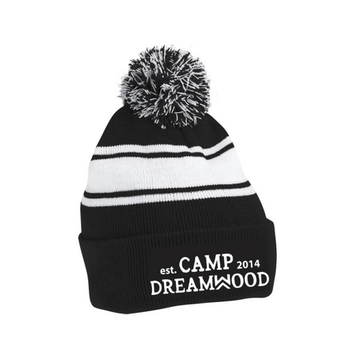 f94d9181637fe We can t think of a better way to keep warm this summer than with our Camp  Dreamwood Pom Pom Toque. This comfortable beanie blocks out the wind and  cold and ...