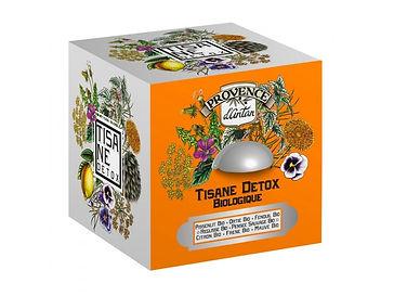 Tisane Détox Bio - 24 sachets. Boîte métal