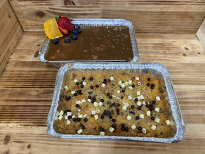 Peanut Butter & Chocolate Chip Bread Pudding