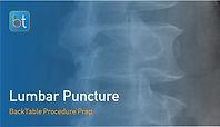 Lumbar Puncture Procedure Prep