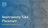 Nephrostomy Tube Placement Procedure