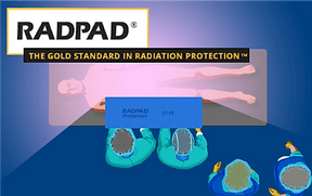 RADPAD Radiation Protection Sponsorship on BackTable