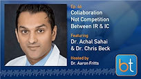 Collaboration Between IR & IC Podcast with Dr. Achal Sahai