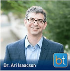 Geniculate Artery Embolzation for Osteoarthritis Podcast Guest Dr. Ari Isaacson