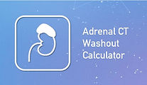 Adrenal CT Washout Calculator on BackTable