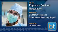 Physician Contract Negotiatio Podcast with Dr. Mary Costantino
