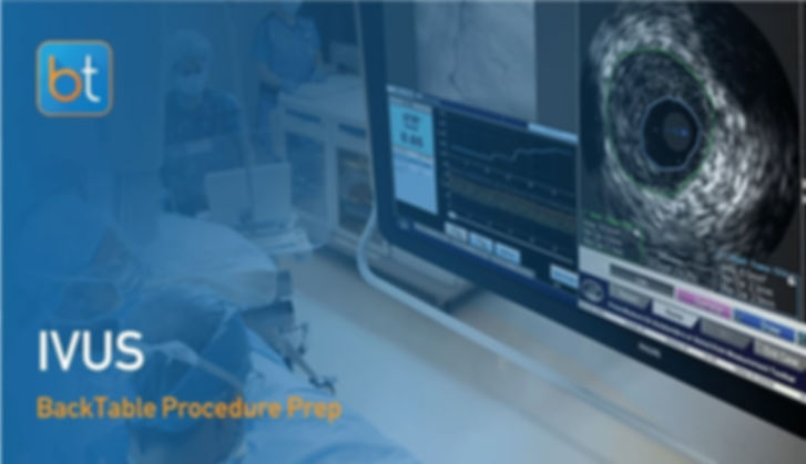 Step-by-step guidance on how to perform IVUS. Review tools, techniques, pearls, and pitfalls on the BackTable Web App.