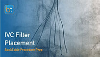 Step-by-step guidance on how to perform IVC Filter Placement. Review tools, techniques, pearls, and pitfalls on the BackTable Web App.