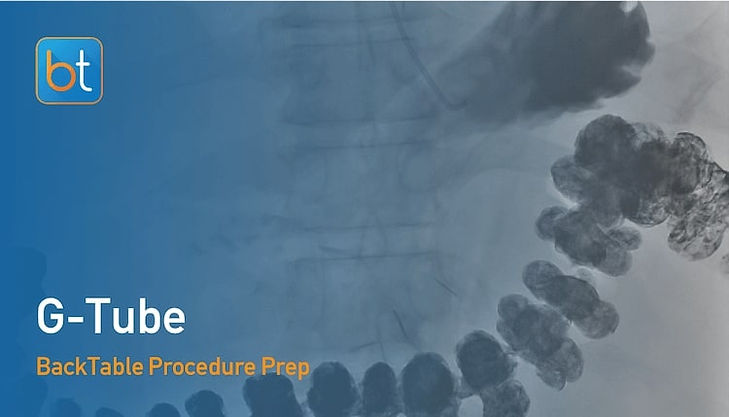 Step-by-step guidance on how to perform Gastrostomy Tube. Review tools, techniques, pearls, and pitfalls on the BackTable Web App.
