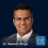 Dr. Rakesh Ahuja on the BackTable Podcast