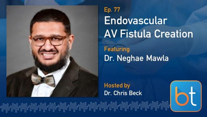 Endovascular AV Fistula Creation