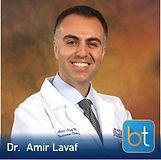 Dr. Amir Lavaf on the BackTable Podcast