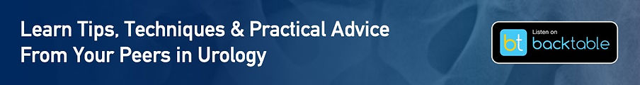 BackTable Urology Podcast Desktop Banner Click to Listen
