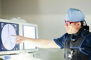 Fibroid Specialist Dr. Michael Lalezarian planning fibroid treatment