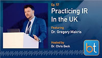 Practicing IR in the UK Podcast Guest Dr. Gregory Makris