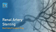 Renal Artery Stenting Procedure Prep