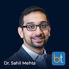 BackTable Podcast Guest Dr. Sahil Mehta