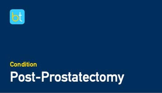 Post-Prostatectomy