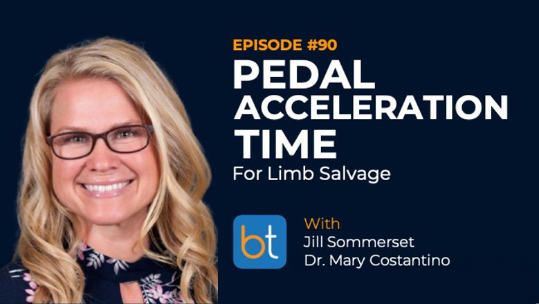 Pedal Acceleration Time for Limb Salvage