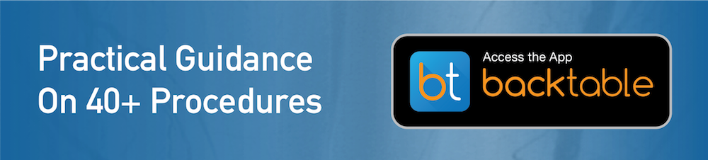 Access the BackTable App