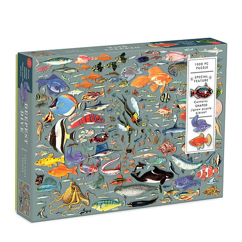 Deepest Dive Jigsaw Puzzle