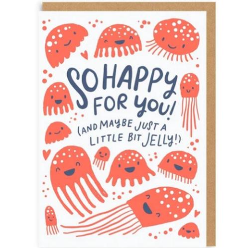 Jellyfish Greetings Card