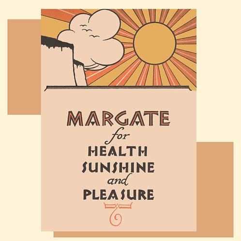 Margate for Health Print