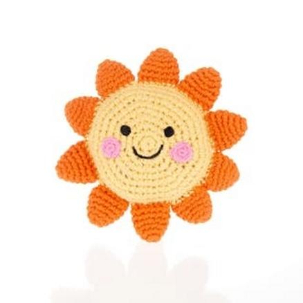 Crochet Sun Rattle