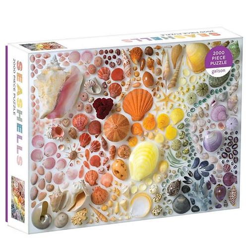 Rainbow Shells 2000-Piece Jigsaw