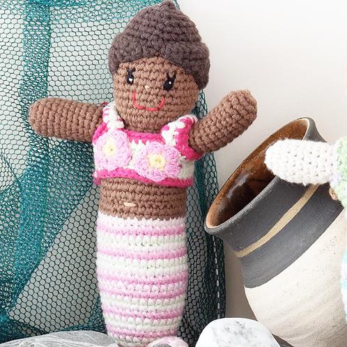 Crochet Mermaid Rattle