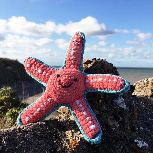 Crochet Starfish Rattle