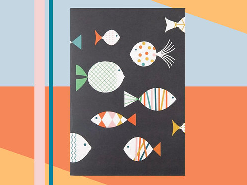 Fish A5 Notebook