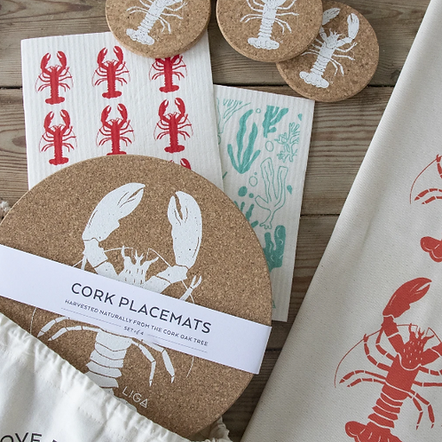 Lobster Kitchen to Table Gift Set
