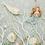 Thumbnail: Blue Mermaid Felt Christmas Decoration