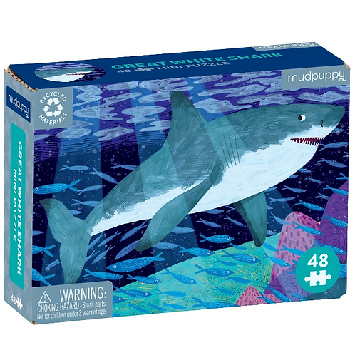Great White Shark Mini Jigsaw Puzzle