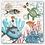Thumbnail: Sea Life Cocktail Napkins