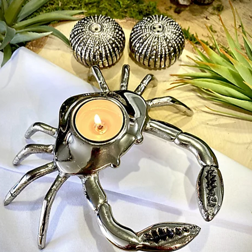Crab Tea Light Holder