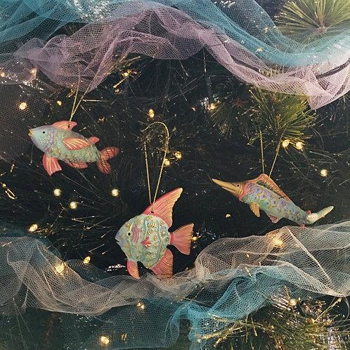 Fish Christmas Decorations