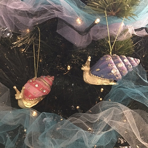 Snail Christmas Decorations