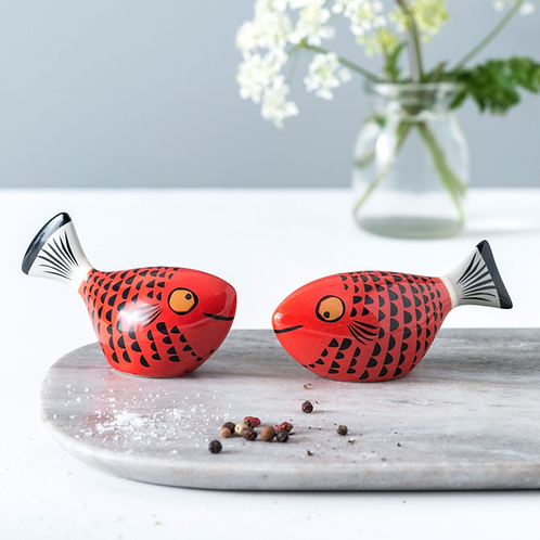 Hannah Turner Red Fish Salt & Pepper