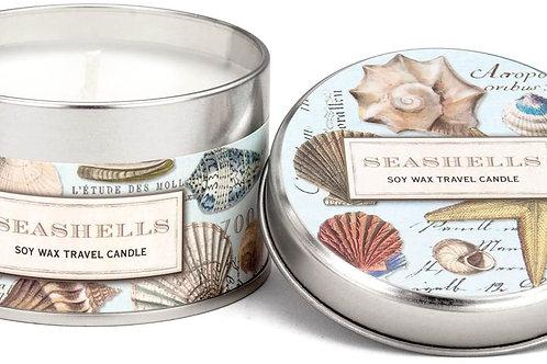 Seashells Travel Candle