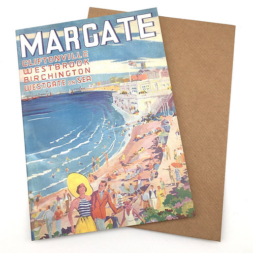 Margate Deco Greetings Card