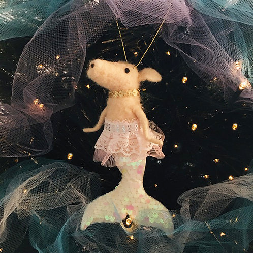 Mermaid Pig Decoration