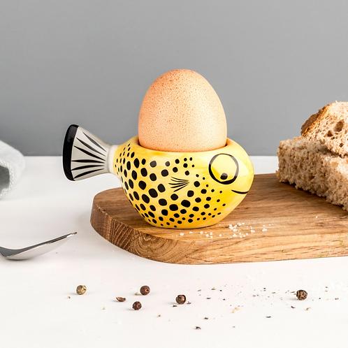 Hannah Turner Yellow Fish Egg Cup