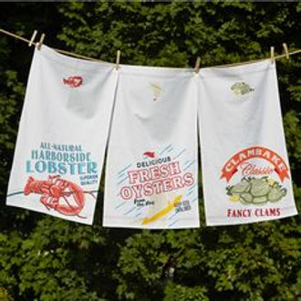 Seafood Shack Tea Towel
