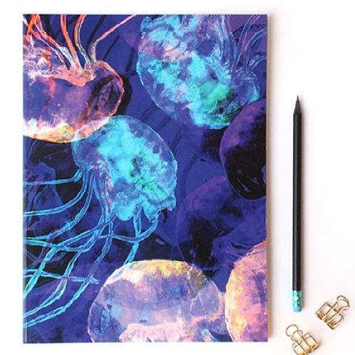 Jellyfish A4 Notebook