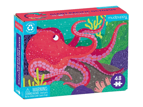 Octopus Mini Jigsaw Puzzle